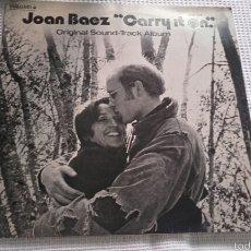 Discos de vinilo: JOAN BAEZ. Lote 57647422