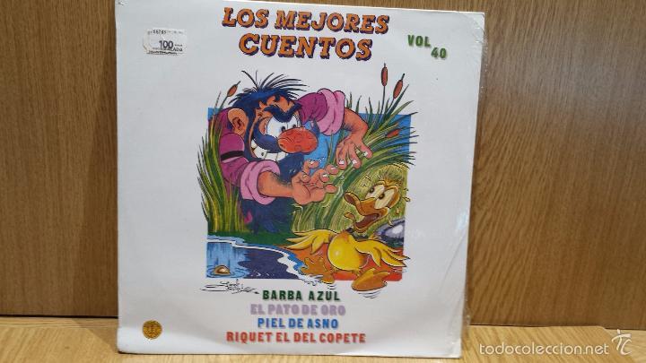 LOS MEJORES CUENTOS. VOL 40 - LP / DIAL DISCO - 1988 / PRECINTADO. ***** (Música - Discos - LPs Vinilo - Música Infantil)
