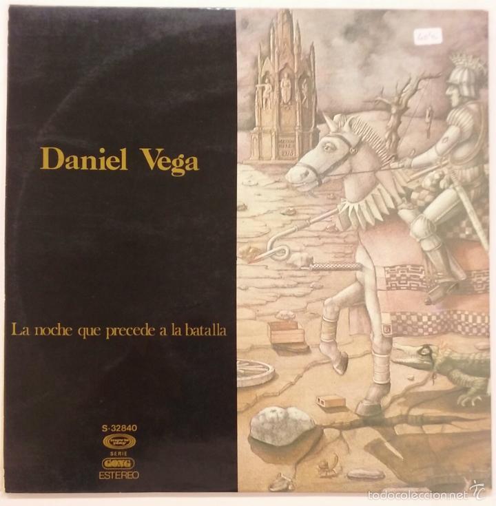 Discos de vinilo: DANIEL VEGA -LA NOCHE QUE PRECEDE A LA BATALLA -LP GONG - Foto 2 - 81992744