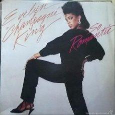 Discos de vinilo: EVELYN CHAMPAGNE KING-SO ROMANTIC, RCA VICTOR-PL-85308. Lote 57654258
