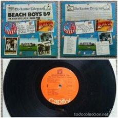 Discos de vinilo: THE BEACH BOYS - LIVE IN LONDON 1969 - BRIAN WILSON, RARA EDIC ORG USA, TODO IMPECABLE. Lote 57655031