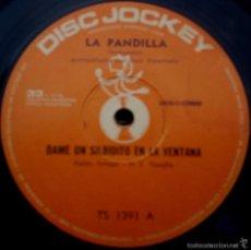 Discos de vinilo: SENCILLO ARGENTINO DE LA PANDILLA AÑO 1971. Lote 57655278