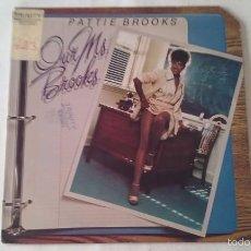 Discos de vinilo: PATTIE BROOKS - OUR MS. BROOKS - LP - 1978. Lote 57655979