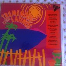 Discos de vinilo: LP DOBLE-TREMENDOS EXITOS LATINOS-VARIOS ESPAÑA. Lote 57659321