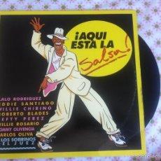 Discos de vinilo: LP AQUI ESTA LA SALSA-VARIOS ESPAÑA. Lote 57659405