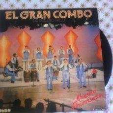 Disques de vinyle: LP EL GRAN COMBO DE PUERTO RICO-ESPAÑA. Lote 57660010