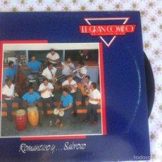 Discos de vinilo: LP EL GRAN COMBO DE PUERTO RICO-ROMANTICO Y SABROSO. Lote 174094978