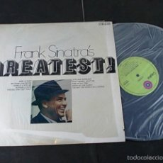 Discos de vinilo: FRANK SINATRA'S GREATEST.. Lote 57660192