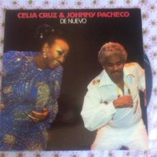 Disques de vinyle: LP CELIA CRUZ & JOHNNY PACHECO-DE NUEVO. Lote 57660196