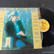 Discos de vinilo: KENNY ROGERS THE BEST VOLUME 2. Lote 57660385