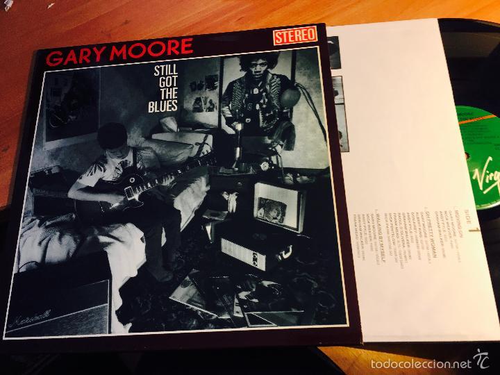GARY MOORE (STILL GOT THE BLUES) LP 1990 ESPAÑA (VINC) (Música - Discos - LP Vinilo - Pop - Rock - New Wave Extranjero de los 80)
