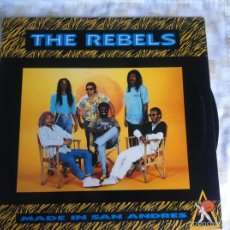 Discos de vinilo: LP THE REBELS-MADE IN SAN ANDRES. Lote 57662459