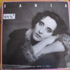 Dischi in vinile: LP - FANIA - DEJA HABLAR AL TIEMPO (SPAIN, NOLA RECORDS 1989). Lote 57667007