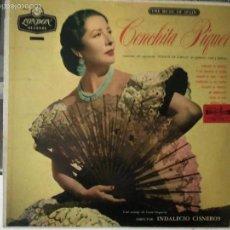 Discos de vinilo: LP CONCHA CONCHITA PIQUER : PUENTE DE COPLAS QUINTERO, LEON QUIROGA (EDIC- INGLESA, LONDON RECORDS. Lote 57667450