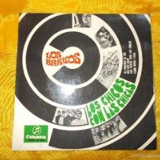 Discos de vinilo: LOS BRAVOS. LOS CHICOS CON LAS CHICAS. EP. COLUMBIA 1967. Lote 167846506