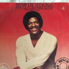 Discos de vinilo: EDWIN STARR-IT'S CALLED THE ROCK-1979. Lote 57669658
