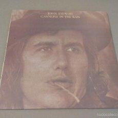 Discos de vinilo: JHON STEWART - CANNONS IN THE RAIN (LP 1973, RCA LSP-4827). Lote 57670108