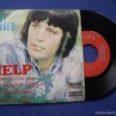 Discos de vinilo: TONY RONALD EP HELP+3 ESPECIAL CIRCULO DE LECTORES UNIVERSA 1971. Lote 57671956