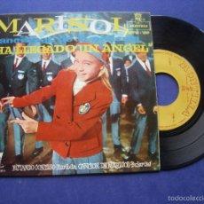 Discos de vinilo: MARISOL HA LLEGADO UN ANGEL EP SPAIN 1961 VINILO EX CARATULA EX. Lote 57672496