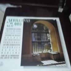 Discos de vinilo: SEVILLANAS DE ORO VOL. 17 C2V. Lote 57673889