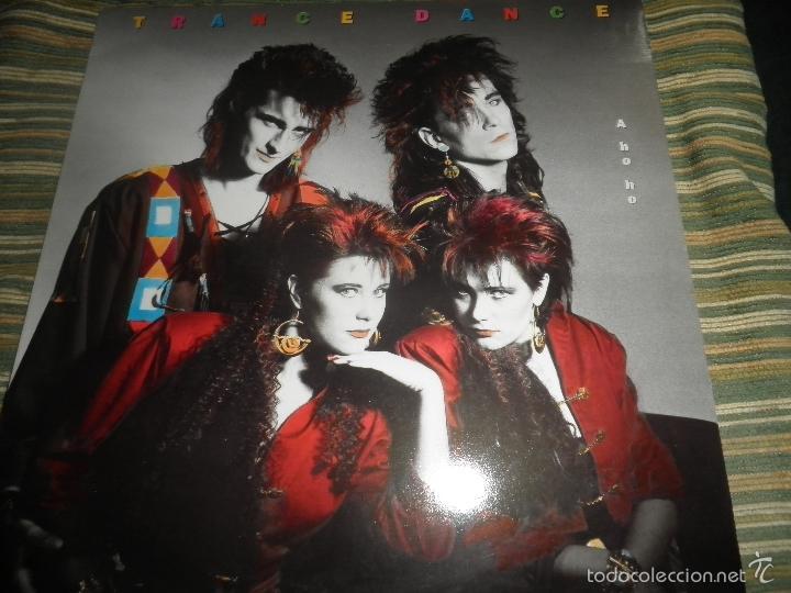 TRANCE DANCE - A HO HO LP - ORIGINAL HOLANDES - CBS 1986 CON FUNDA INT. ORIGINAL - MUY NUEVO(5) (Música - Discos - LP Vinilo - Pop - Rock - New Wave Extranjero de los 80)
