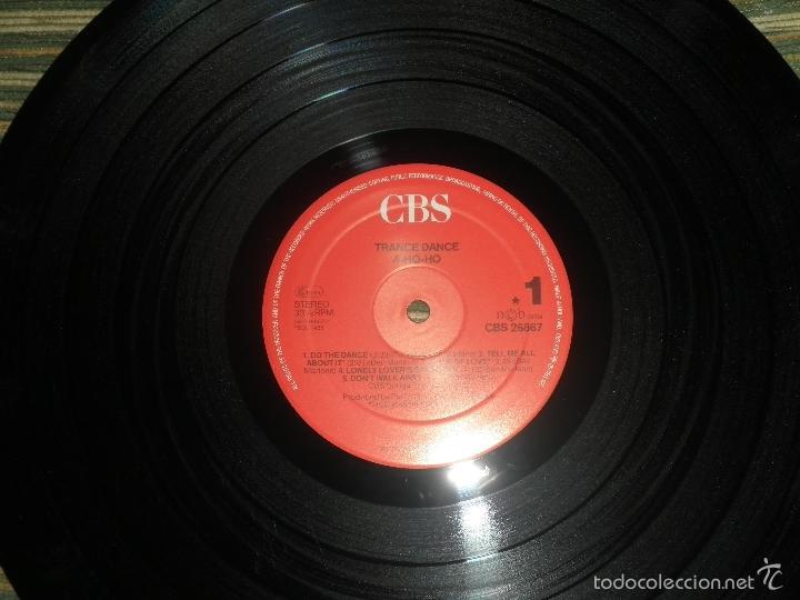 Discos de vinilo: TRANCE DANCE - A HO HO LP - ORIGINAL HOLANDES - CBS 1986 CON FUNDA INT. ORIGINAL - MUY NUEVO(5) - Foto 11 - 57676527