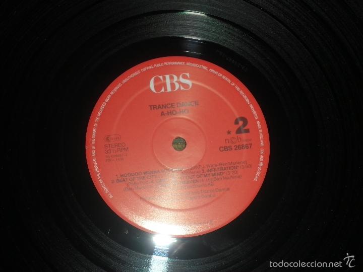 Discos de vinilo: TRANCE DANCE - A HO HO LP - ORIGINAL HOLANDES - CBS 1986 CON FUNDA INT. ORIGINAL - MUY NUEVO(5) - Foto 14 - 57676527