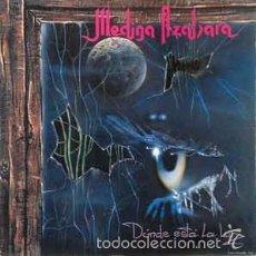 Discos de vinilo: MEDINA AZAHARA - DONDE ESTA LA LUZ (AVISPA, ALP-021 LP, 1993) PRECINTADO!!!! . Lote 57676626