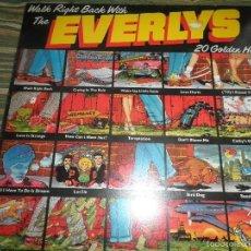 Discos de vinilo: EVERLY BROTHERS - WALK RIGHT BACK WITH LP - EDICION INGLESA - WARNER BROS. 1975 - MUY NUEVO (5). Lote 57676916
