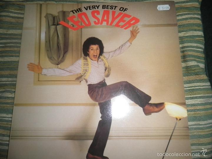 LEO SAYER - THE VERY BEST OF LP - ORIGINAL INGLES - CHYSALIS RECORDS 1979 CON FUNDA INT. ORIGINAL (Música - Discos - LP Vinilo - Pop - Rock - Extranjero de los 70)