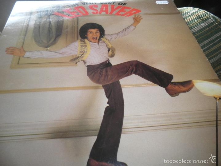Discos de vinilo: LEO SAYER - THE VERY BEST OF LP - ORIGINAL INGLES - CHYSALIS RECORDS 1979 CON FUNDA INT. ORIGINAL - Foto 8 - 57677676