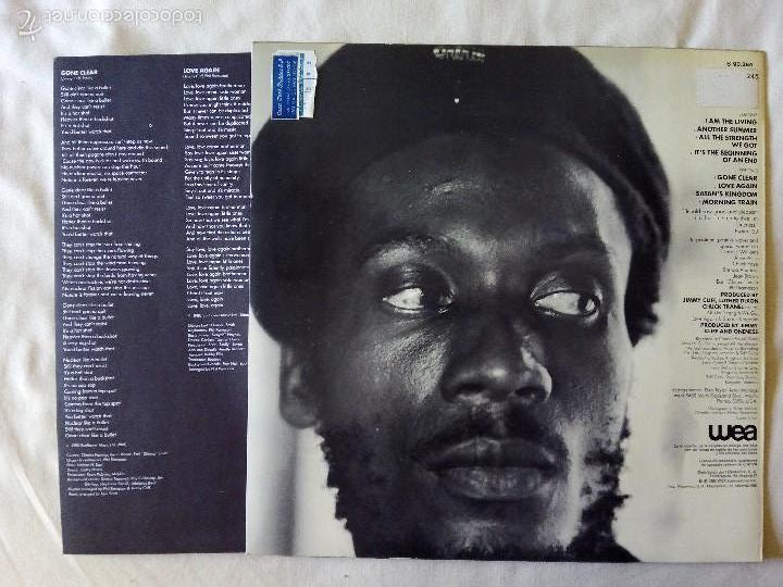 Discos de vinilo: JIMMY CLIFF, I AM THE LIVING (HISPAVOX) LP ESPAÑA - ENCARTE - Foto 2 - 57678655