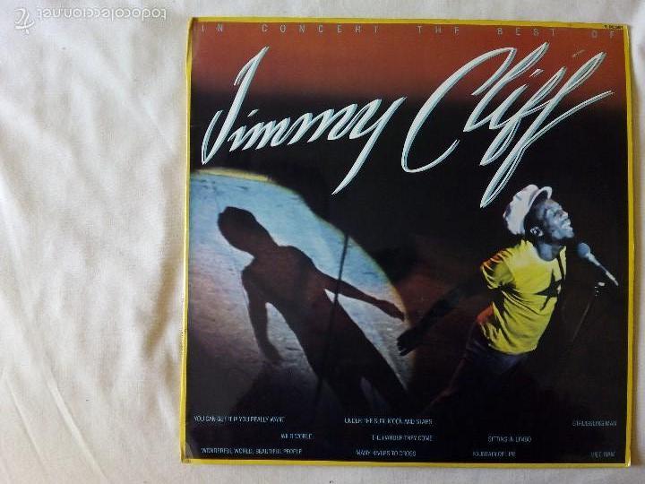 JIMMY CLIFF, IN CONCERT THE BEST OF (HISPAVOX) LP ESPAÑA (Música - Discos - LP Vinilo - Reggae - Ska)