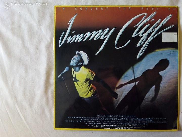 Discos de vinilo: JIMMY CLIFF, IN CONCERT THE BEST OF (HISPAVOX) LP ESPAÑA - Foto 2 - 57678686