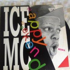 Discos de vinilo: 12 MAXI-ICE MC-HAPPY WEEKEND. Lote 57680616