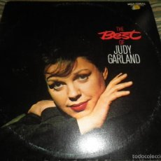 Discos de vinilo: JUDY GARLAND - THE BEST OF DOBLE LP - EDICION INGLESA - MCA CORAL RECORDS 1973 - GATEFOLD COVER -. Lote 57681011