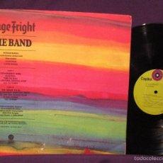Discos de vinilo: THE BAND / STAGE FRIGHT 1970 !! BOB DYLAN, RARA 1ª EDIC ORIG USA 1º PRENSAJE CAPITOL, EXC. Lote 57681551