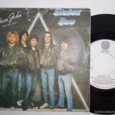 Disques de vinyle: STATUS QUO-SINGLE DEAR JOHN-PORT.SUFRIDA VINILO BIEN. Lote 57683631