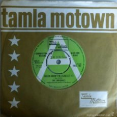 Disques de vinyle: ORIGINALS. GREEN GROW THE LILACS/ YOU'RE THE ONE. TALMA MOTOWN, UK 1969 (SINGLE PROMOCIONAL) . Lote 57683867