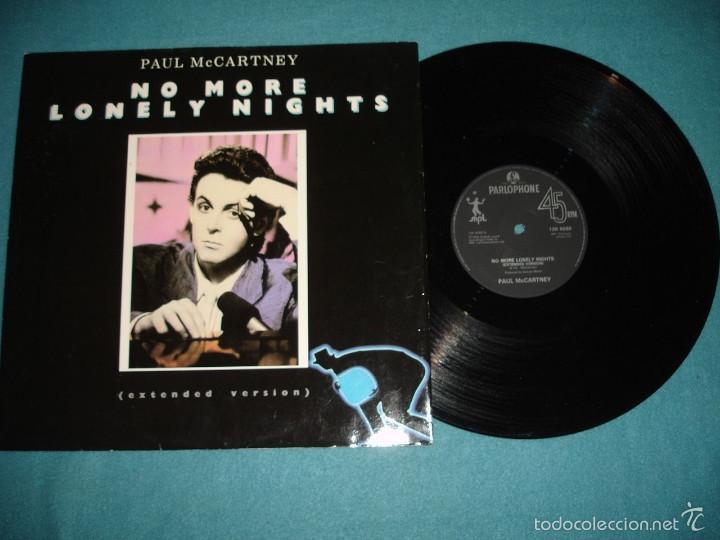 BEATLES, PAUL MCCARTNEY - NO MORE LONELY NIGHTS, RARO MAXI 3 TEMAS, LIMT EDIT UK, EXC (Música - Discos de Vinilo - Maxi Singles - Pop - Rock Extranjero de los 50 y 60)
