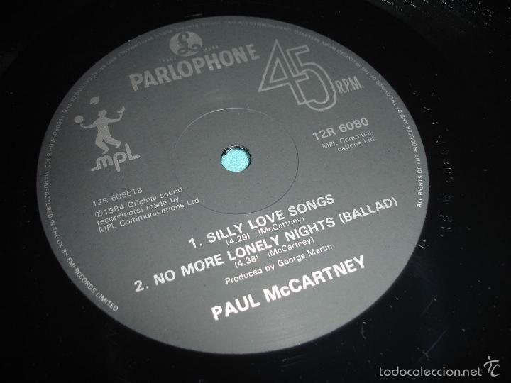 Discos de vinilo: BEATLES, PAUL MCCARTNEY - NO MORE LONELY NIGHTS, RARO MAXI 3 TEMAS, LIMT EDIT UK, EXC - Foto 3 - 57684267