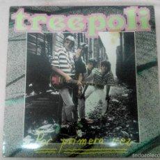 Discos de vinilo: LP TREEPOLI. POR PRIMERA VEZ. CON AUTÓGRAFO CANTANTE. Lote 57685502