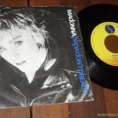 Discos de vinilo: MADONNA SINGLE PAPA DON'T PREACH MADE IN SPAIN 1986. Lote 57687142