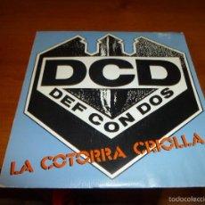 Discos de vinilo: SINGLE DE DEF CON DOS, LA COTORRA CRIOLLA. Lote 57688819