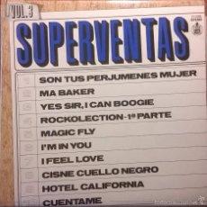 Discos de vinilo: VARIOS-SUPERVENTAS VOL. 3, HISPAVOX-21-028 S. Lote 57693231