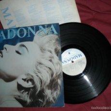 Discos de vinilo: MADONNA TRUE BLUE LP CON ENCARTE MADE IN SPAIN CBS 1986 VER FOTO. Lote 57695008
