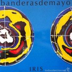 Discos de vinilo: BANDERAS DE MAYO - IRIS . LP . 1992 BDM. Lote 160964466