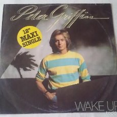 Discos de vinilo: PETER GRIFFIN - WAKE UP - 1980. Lote 57705576