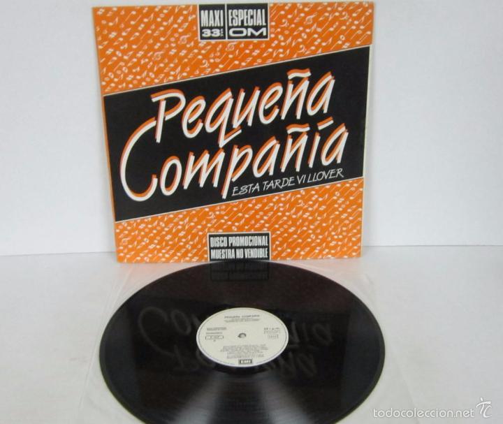 PEQUEÑA COMPAÑIA - ESTA TARDE VI LLOVER - MAXI ESPECIAL 33 RPM - EMI 1985- PROMO RARE VINILO MINT (Música - Discos de Vinilo - Maxi Singles - Grupos Españoles de los 70 y 80)