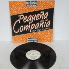 Discos de vinilo: PEQUEÑA COMPAÑIA - ESTA TARDE VI LLOVER - MAXI ESPECIAL 33 RPM - EMI 1985- PROMO RARE VINILO MINT. Lote 57707787